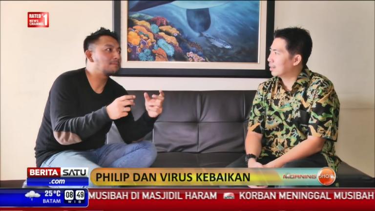 People and Inspiration: Philip dan Virus Kebaikan (BeritaSatu)